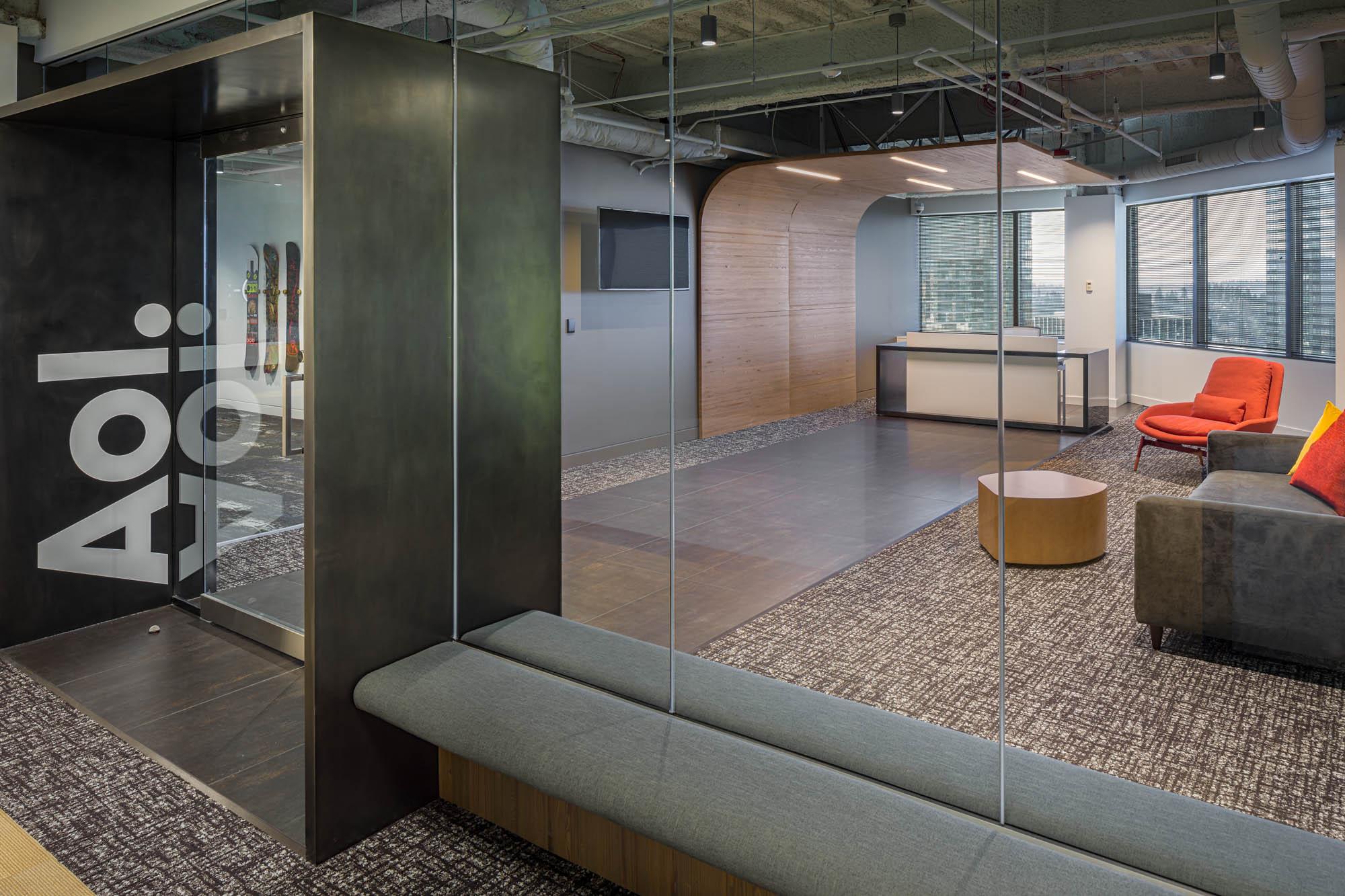 Aol Bellevue Workplace Lobby Interior