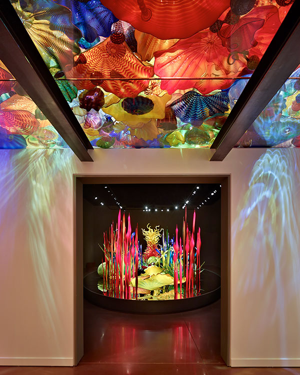 Chihuly Garden & Glass, Building Interior Hallway