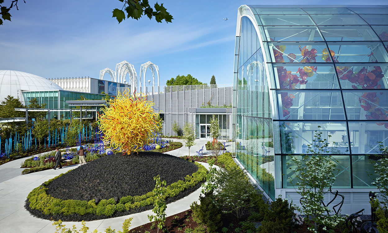 Chihuly Garden & Glass, Exterior View
