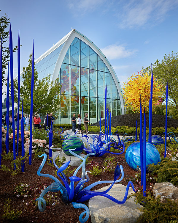 Chihuly Garden & Glass, Outside Sculptures at Seattle Center