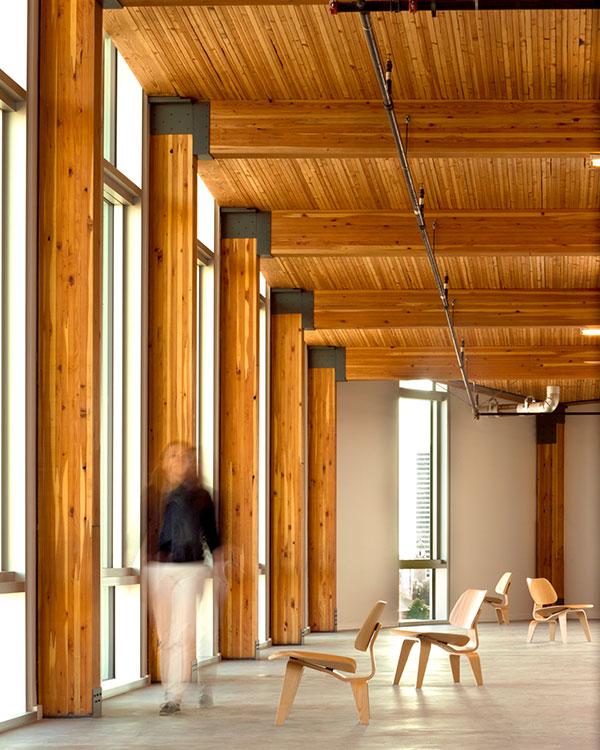 Bullitt Center, Sustainable Building Interior View