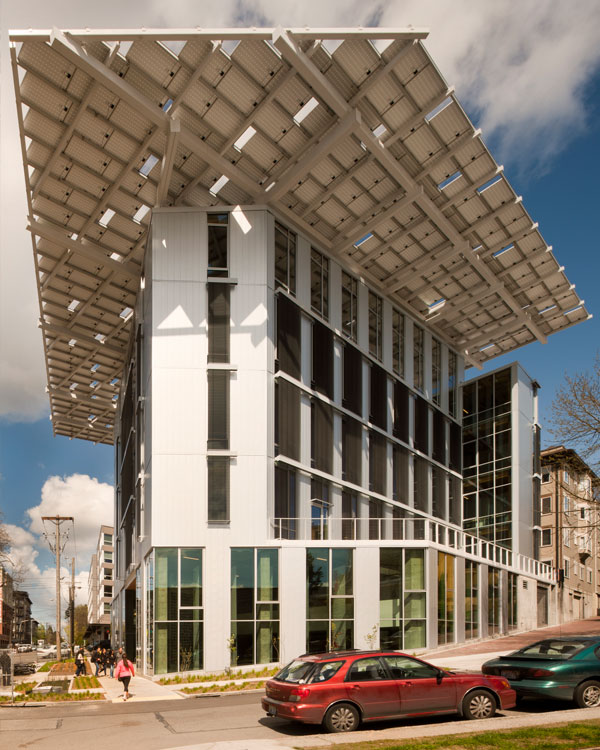 Bullitt Center, Sustainable Building Street View