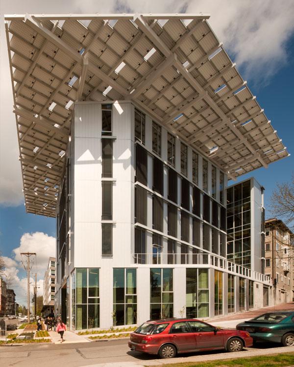 Bullitt Center, Sustainable Building Street View