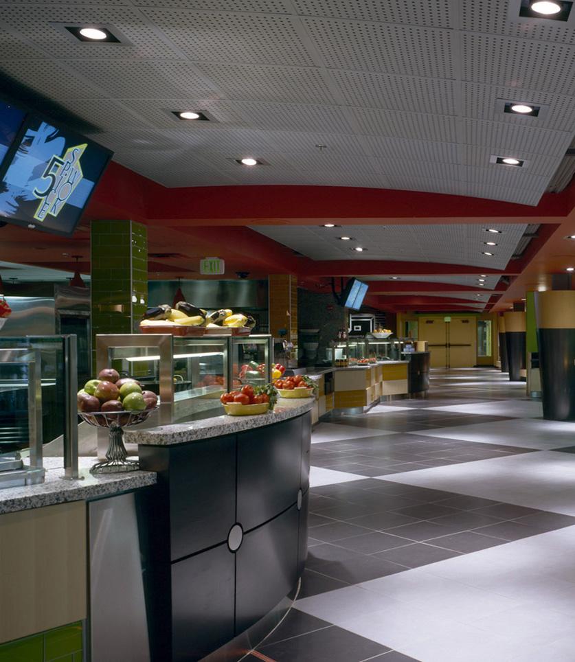 UW Terry Lander Dining Hall Food Line