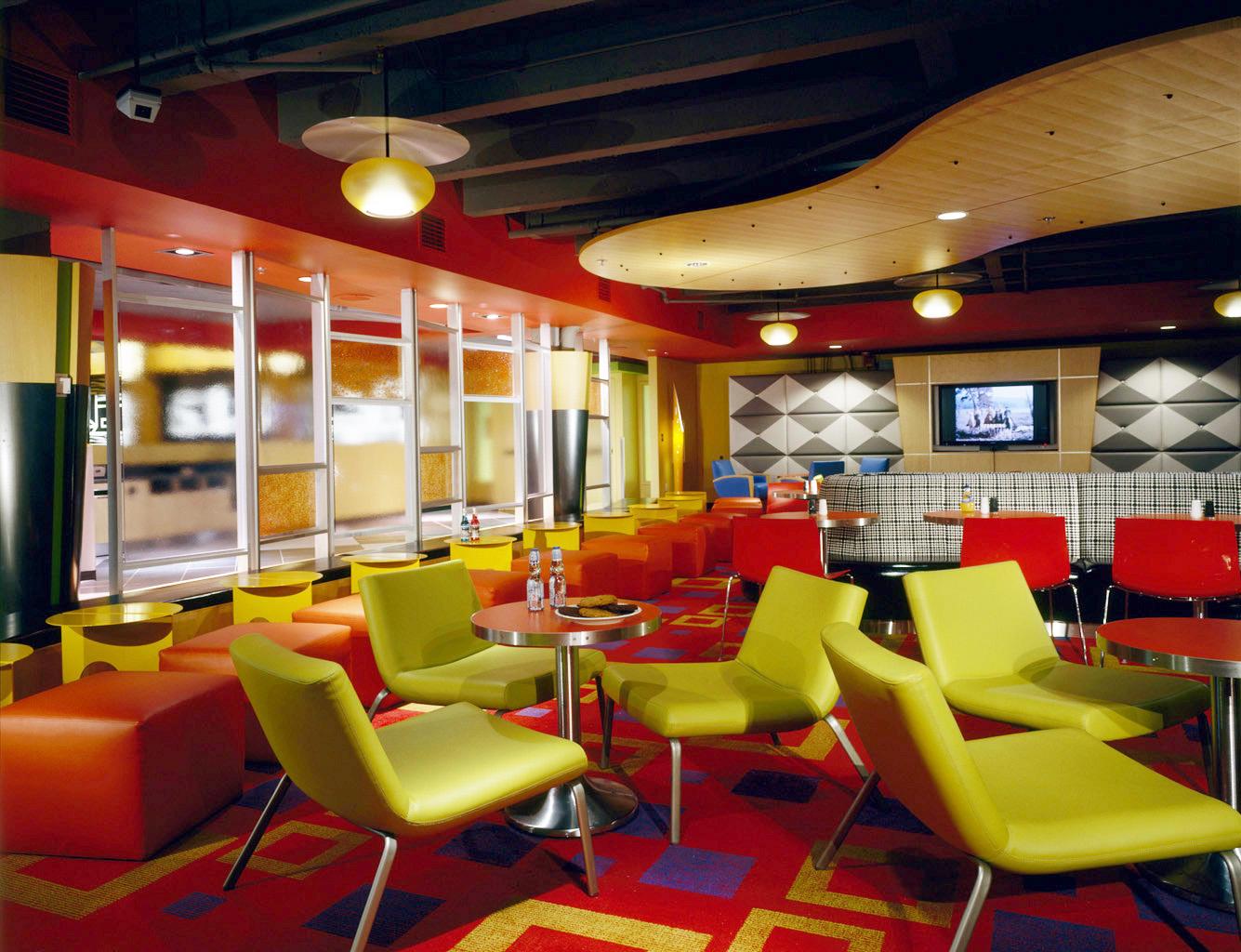 UW Terry Lander Dining Hall Interior Lounge View