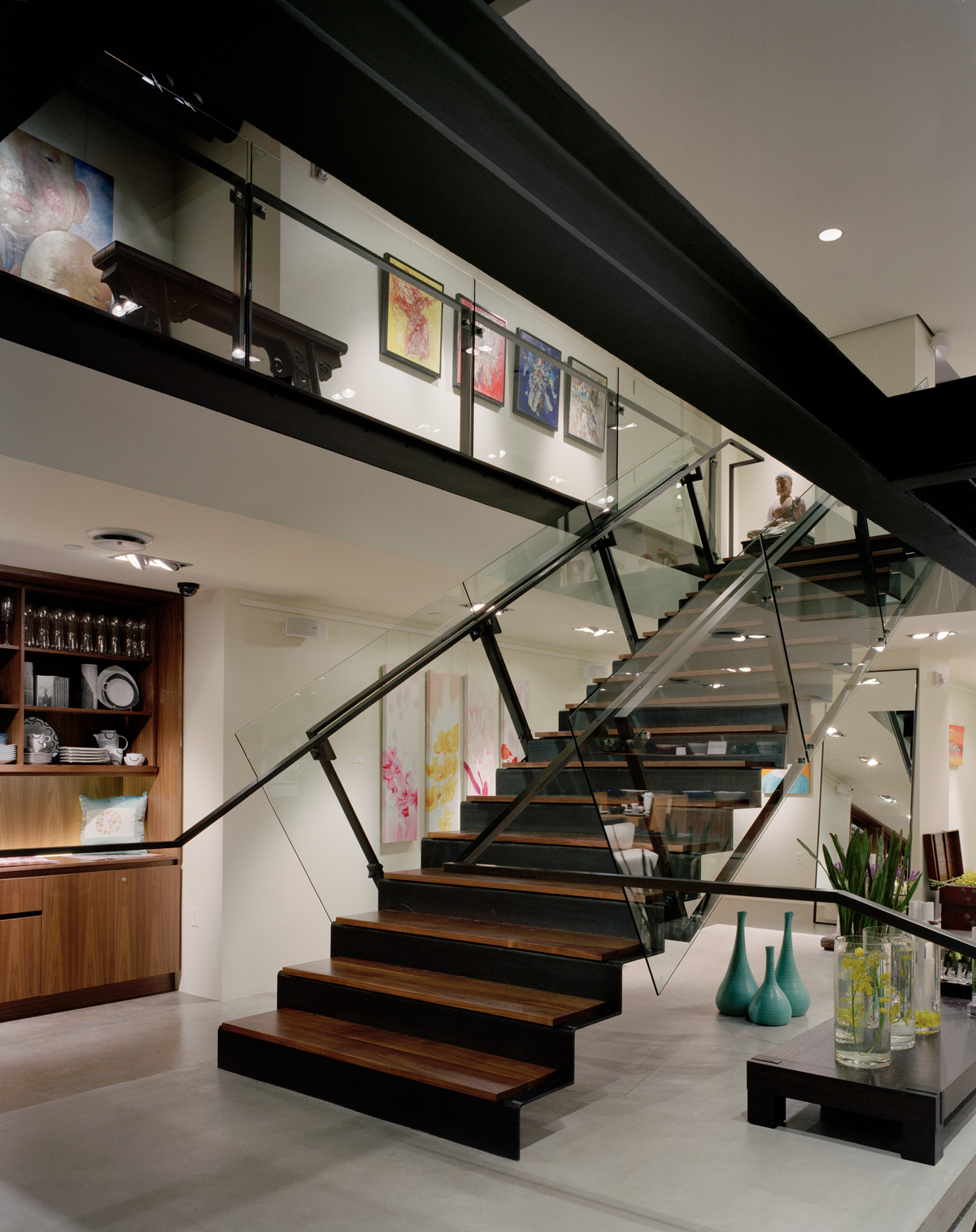 Alchemy Collections, interior staircase