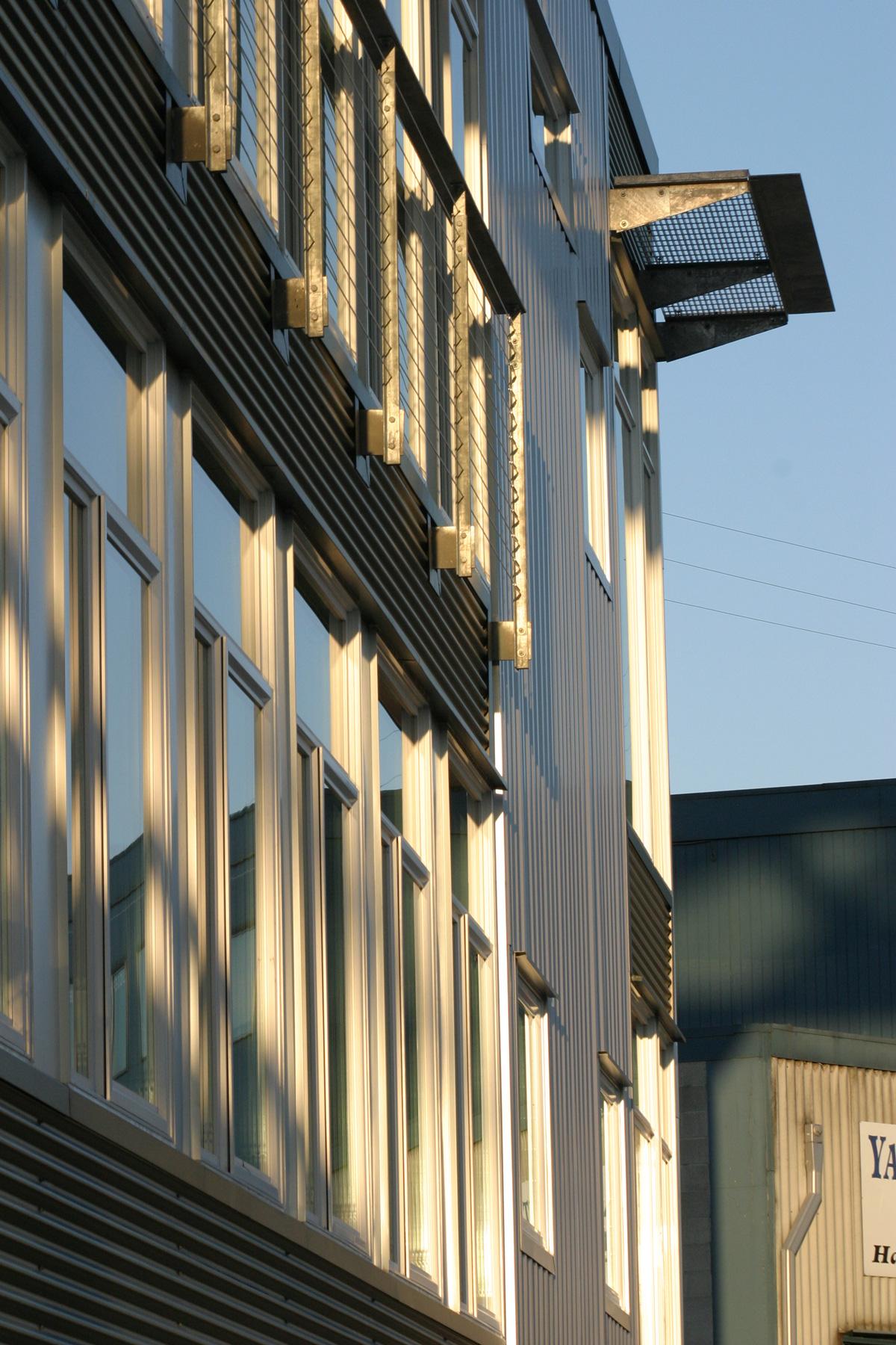 Boat Street Landing building exterior windows