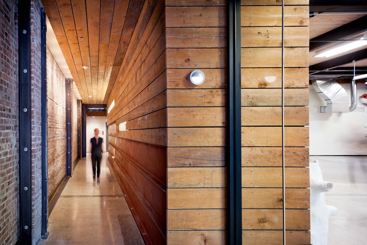 Mad Art Interior Office Hallway