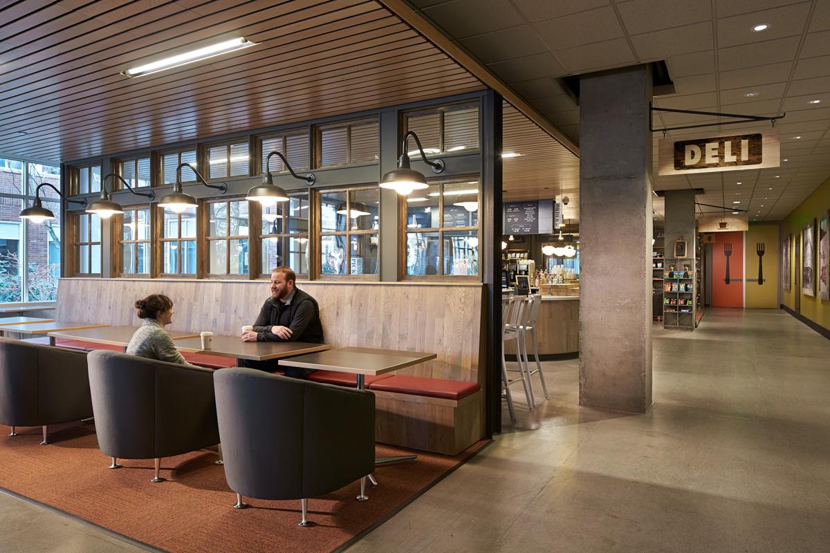 Microsoft B50 Cafe restaurant cafe