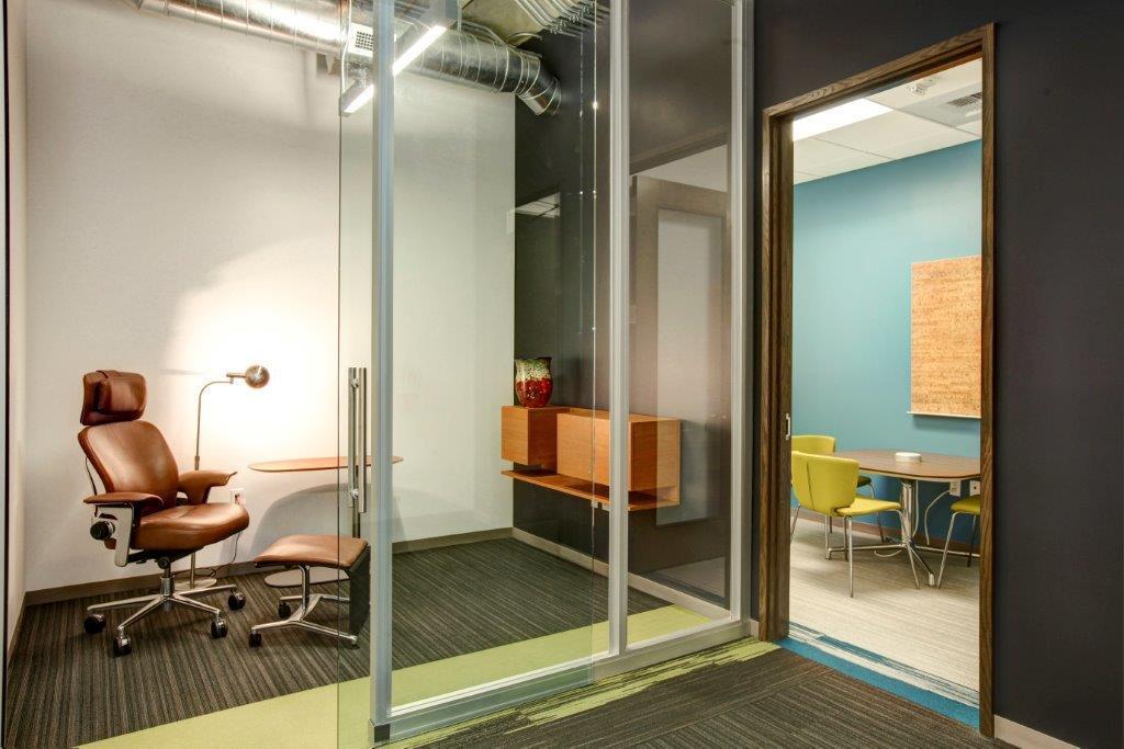 Open Square office quiet study room