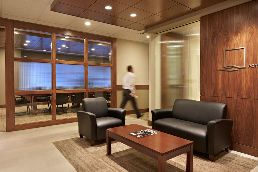 Private Bank Seattle lobby and lounge
