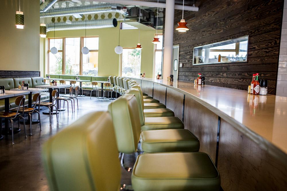 Skillet Diner bar seating