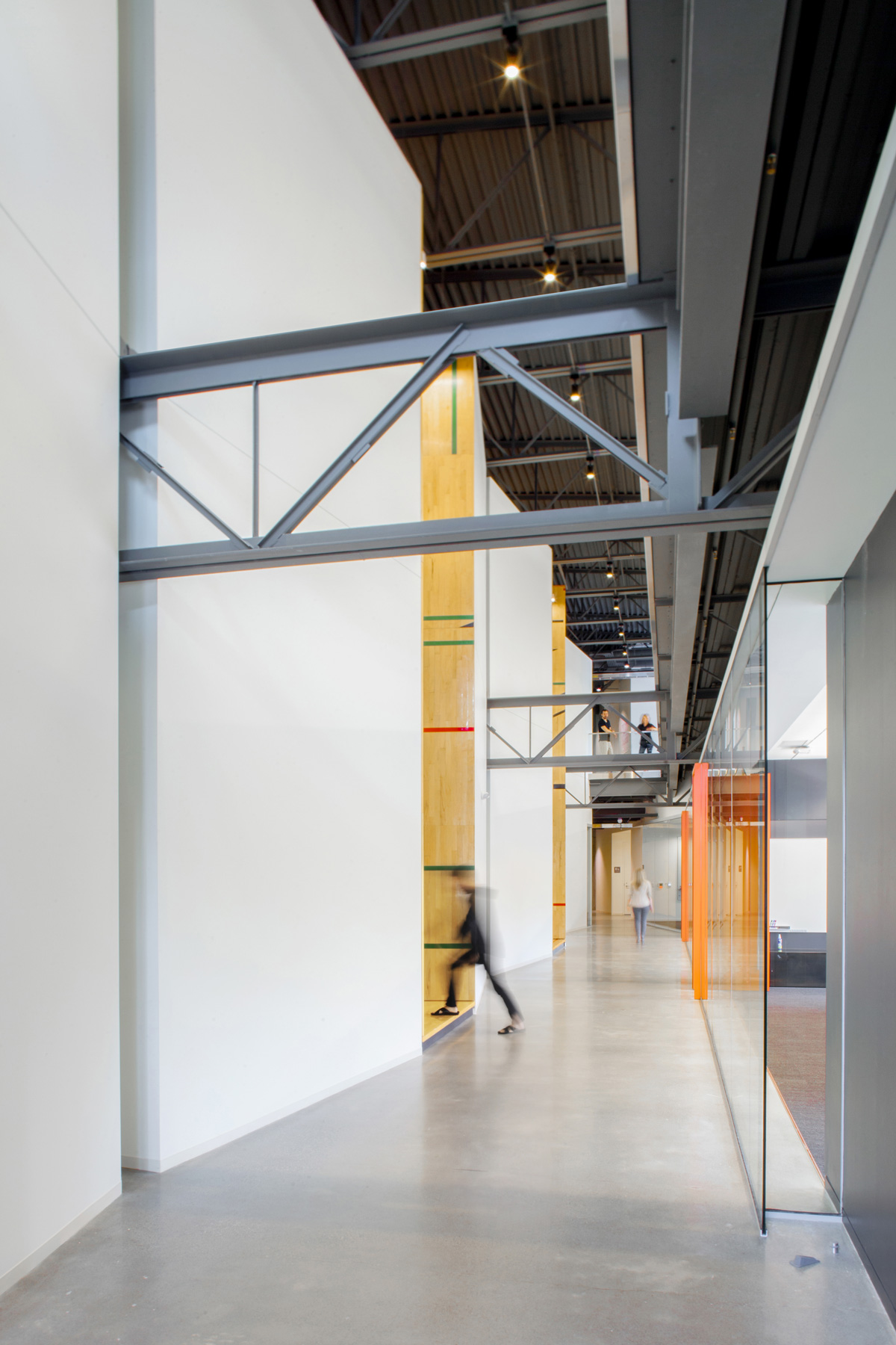 Tableau office interior hallway