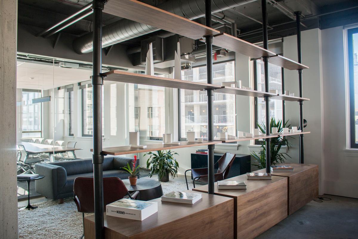 WATG Seattle Office Interior Lounge