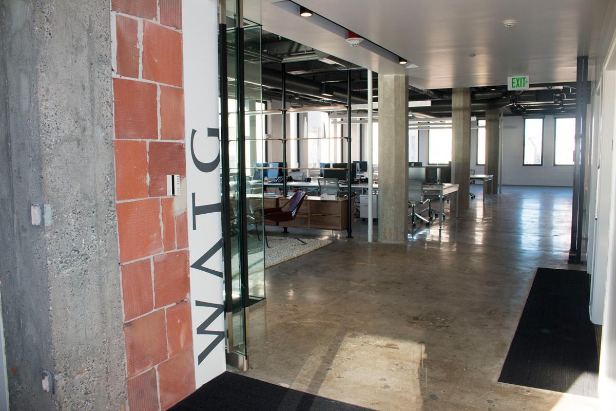 WATG Seattle Office building interior