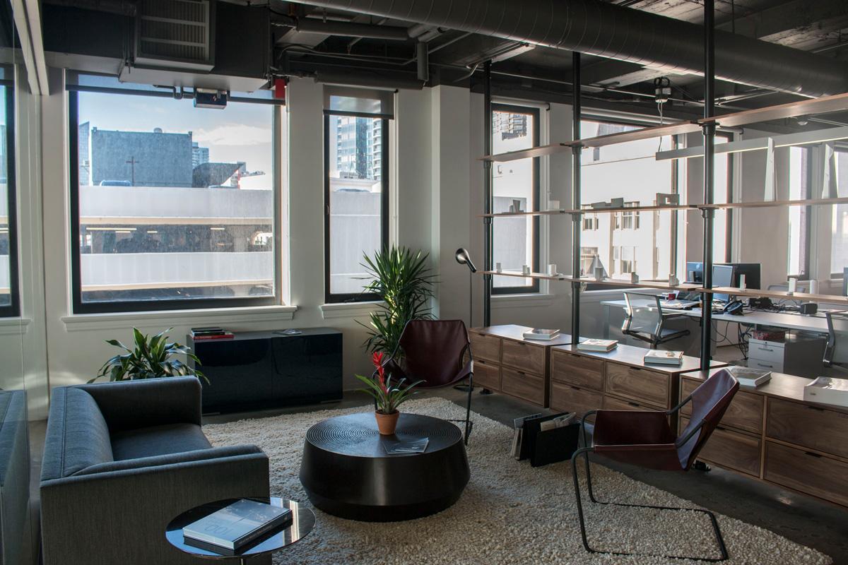 WATG Seattle Office, Interior Lounge Window view