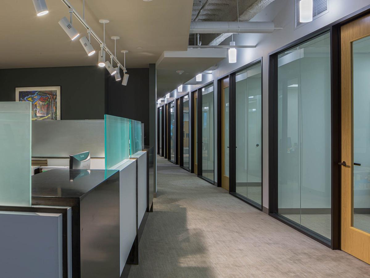 Yarmuth Wilsdon office hallway