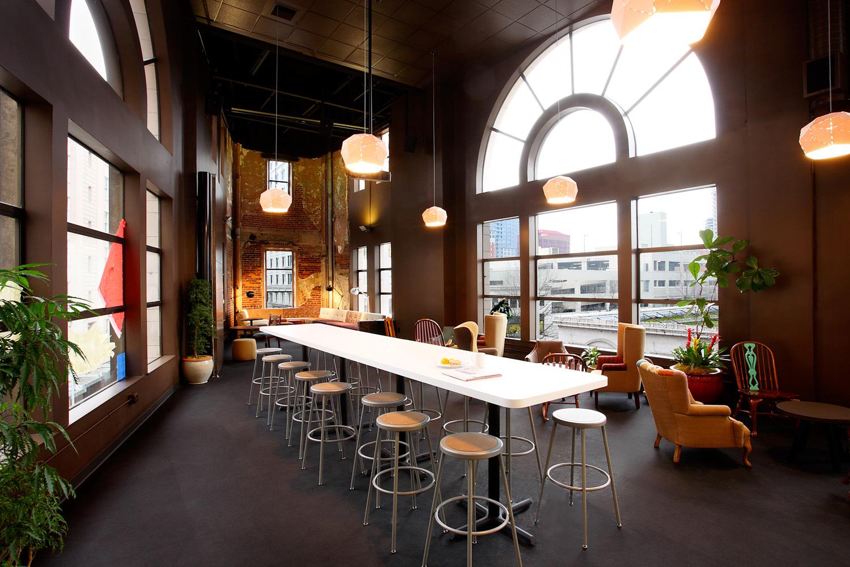 Zaaz tenant improvement bar lounge