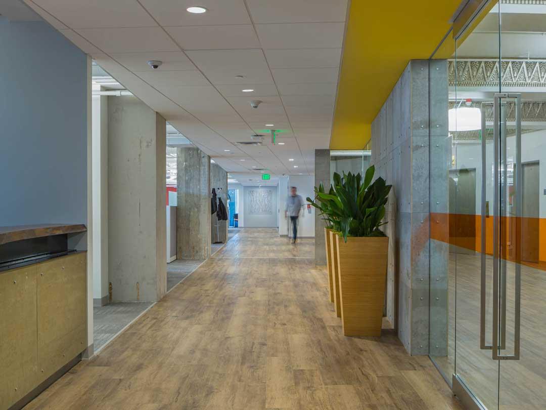 Nuance Exchange Office Interior Hallways