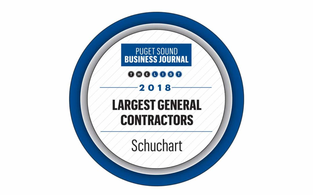 Schuchart named to the PSBJ list of largest GCs