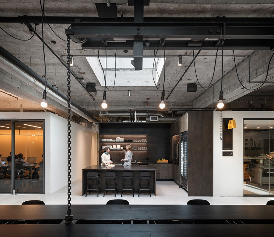 Hornall Anderson's flex kitchen space